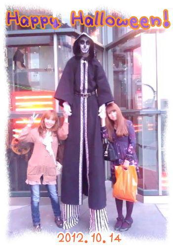 ムスメとだっきゃ 2012ハロウィン ユニバーサルスタジオジャパン(USJ)