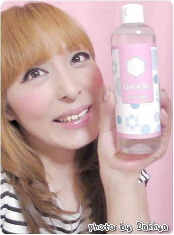 オカミ(OKAMI) 温泉水成分が入った化粧水 LCLOVE COSMETIC(エルシーラブコスメティック)  だっきゃ