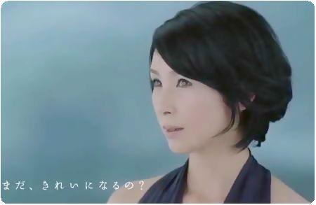 黒木瞳さんのCM LITS(リッツシリーズ)