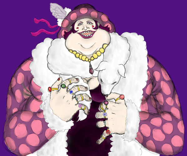 醜く太った女性