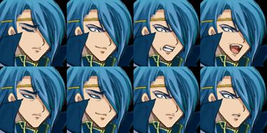 青い髪のお兄さん1