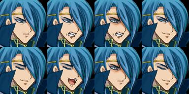 青い髪のお兄さん2