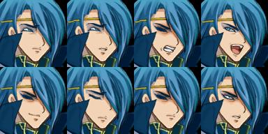 青い髪のお兄さん4
