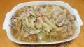 白菜と豚肉の炒め煮 20160218