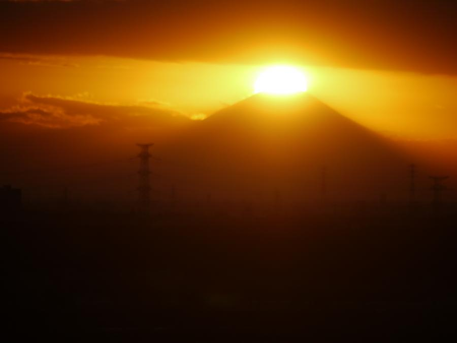 20121226ダイヤモンド富士1