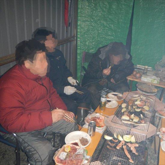 耐寒焼き肉2013_4