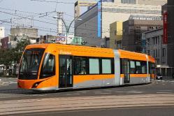 福井駅前~市役所前間(2013.4.5)