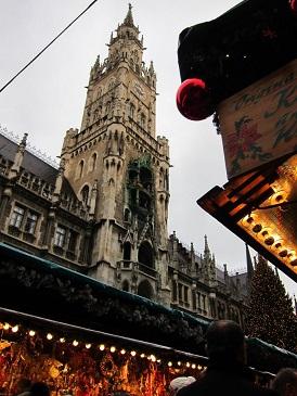 マリエンプラッツ クリスマスマーケット