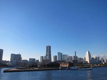 大桟橋からMM21