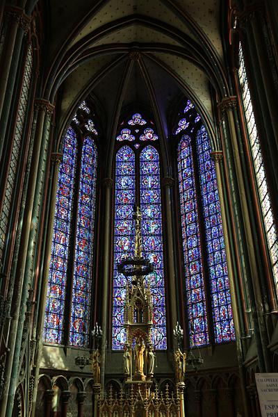 アミアン ノートルダム大聖堂のステンドグラス