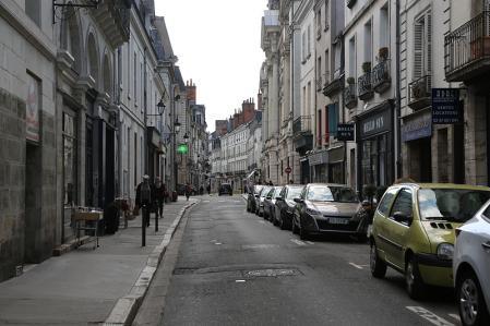 トゥール 街並み