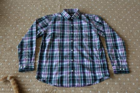 THE NORTH FACE ダクロンQDコットンシャツ 10290円