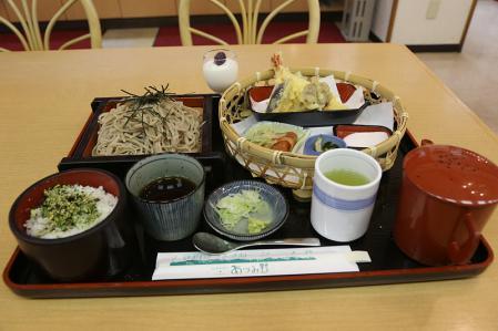 梓川SA おひさま定食1500円