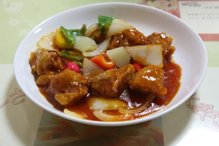 筑紫飯店 酢豚