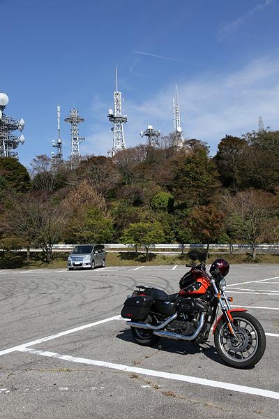 本宮山スカイライン 山頂駐車場