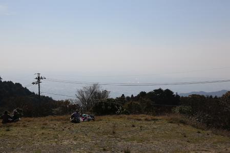 本宮山スカイライン 頂上からの景色