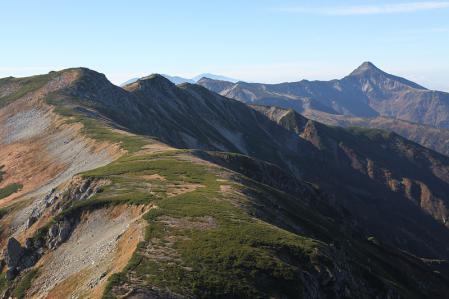 三俣蓮華~双六の稜線はこの山旅で一番だった。