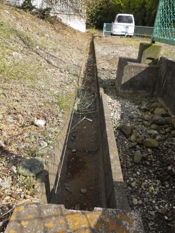 戸倉水利組合用水路