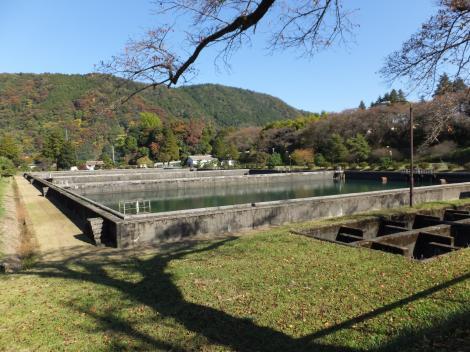 横須賀水道半原水源地