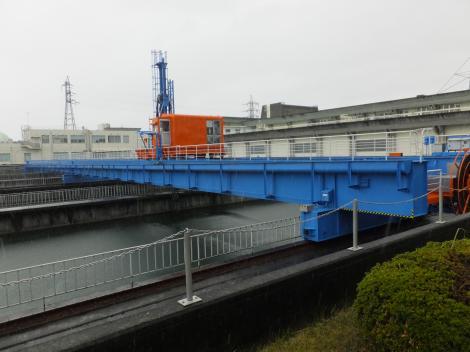 飯泉取水施設・排砂機