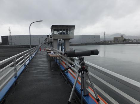 飯泉取水堰管理橋