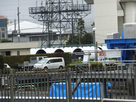 飯泉取水施設・導水管備蓄置場