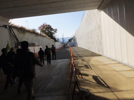 市道新戸相武台 (新トンネル部分)