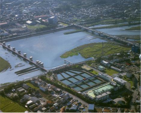 神奈川県広域水道企業団・飯泉取水施設