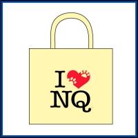 I LOVE NQ(アイ・ラブ・ニクキュウ)トートバッグ