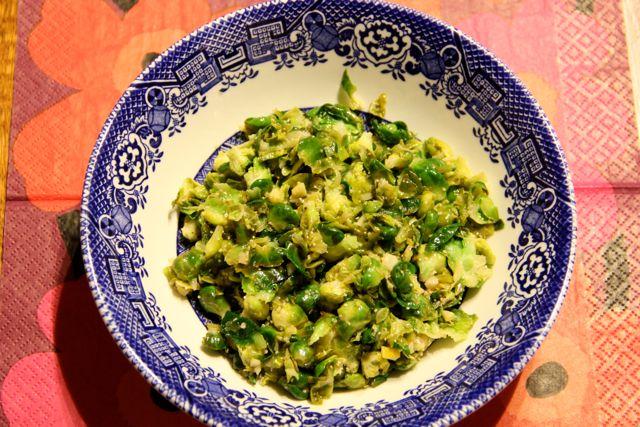 芽キャベツサラダ