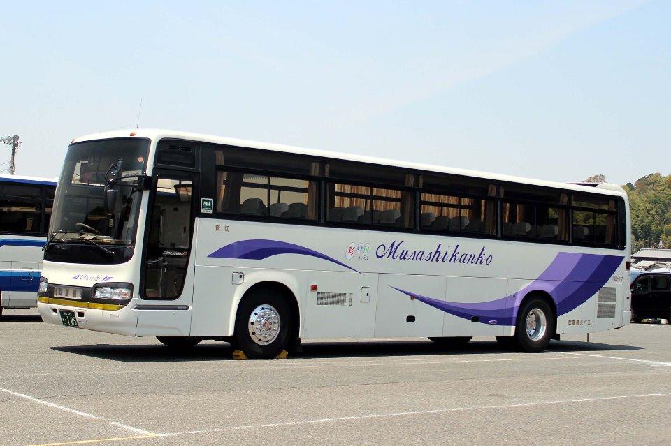 武蔵観光バス か185