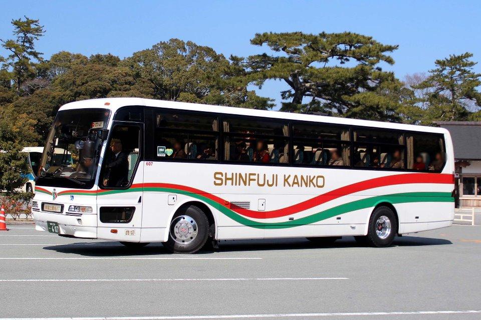 新富士観光バス あ607