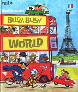 """BUSY, BUSY WORLD"""