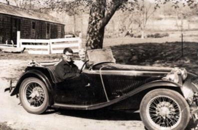 スキャリー氏とMG TC(1951)