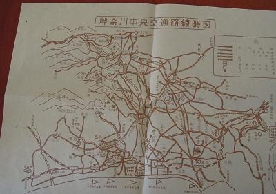 神奈川中央交通路線図