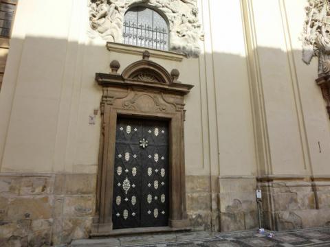 聖ヤクプ教会扉