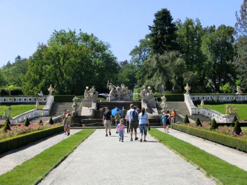 チェスキー・クルムロフ城庭園