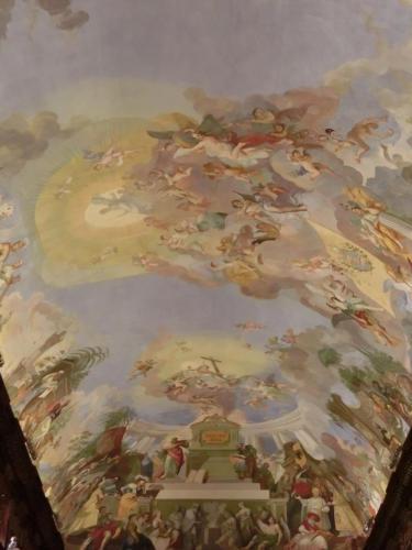哲学の間天井