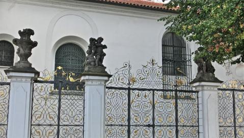 ストラホフ修道院フェンス