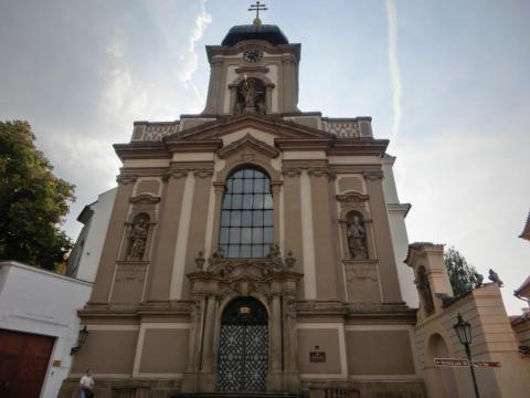 フラッチャニの教会