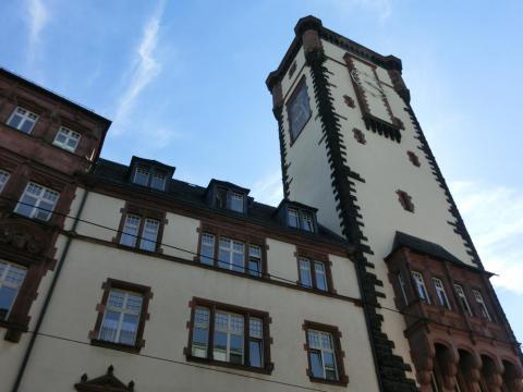 フランクフルト旧市庁舎時計塔