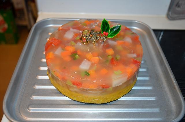 初手作りクリスマスケーキ