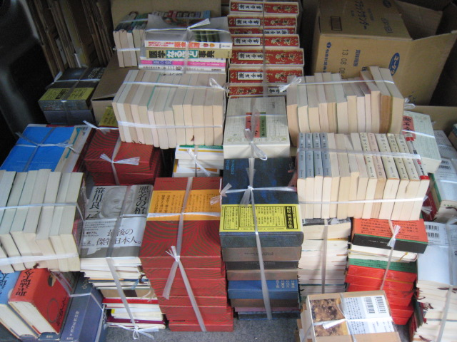 漱石全集、梅原猛著作集、中国の思想