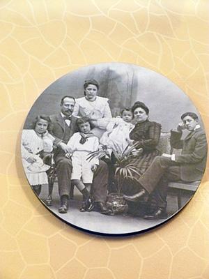バトリョ一家の写真
