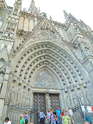 サンタ・エウラリア大聖堂入口