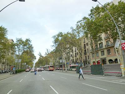 バルセロナ・グラシア通り