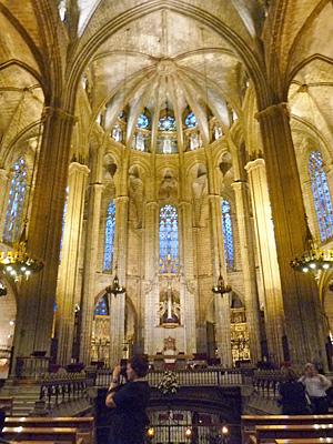 サンタ・エウラリア大聖堂の祭壇