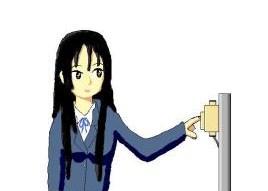 秋山澪手描き
