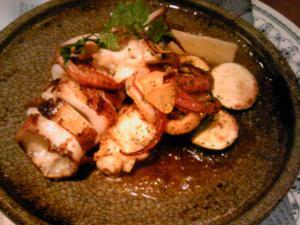 「ヤリイカのオーブン焼き」ミシェル(福岡市)