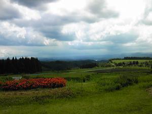 「外の景色」菜園の風(小国町)